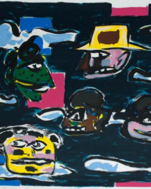 Kunstenaar:  Alphons Freijmuth  Titel:Holland  Jaar: 1991  Techniek: Litho  Oplage: 100  Formaat: 51x60  Prijs: € 375,- zonder lijst